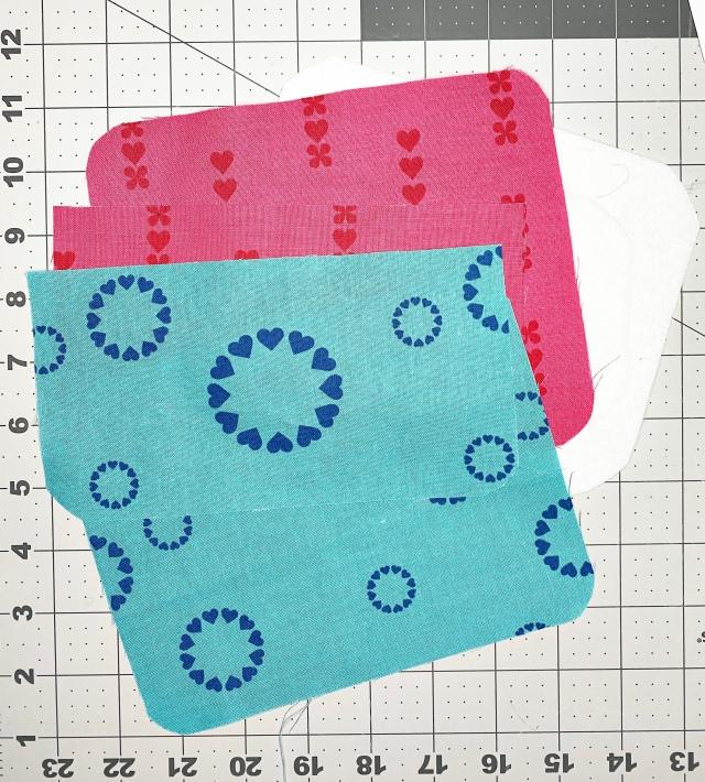 Dream Glasses Cases: Cut fabric