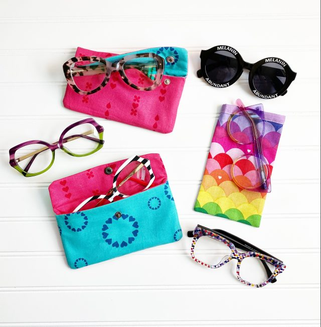 Glasses Cases: Finish product