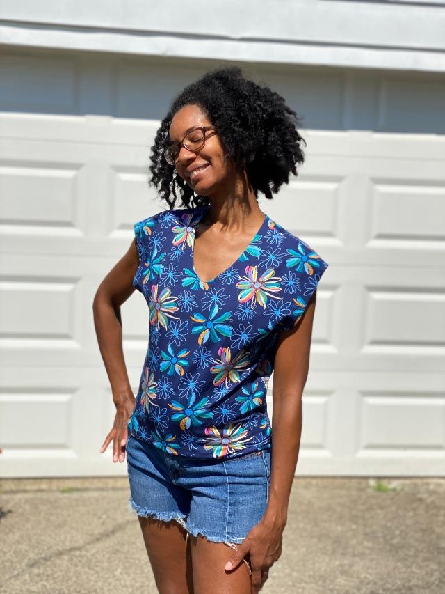 Jersey Knit Shirt: Finish product