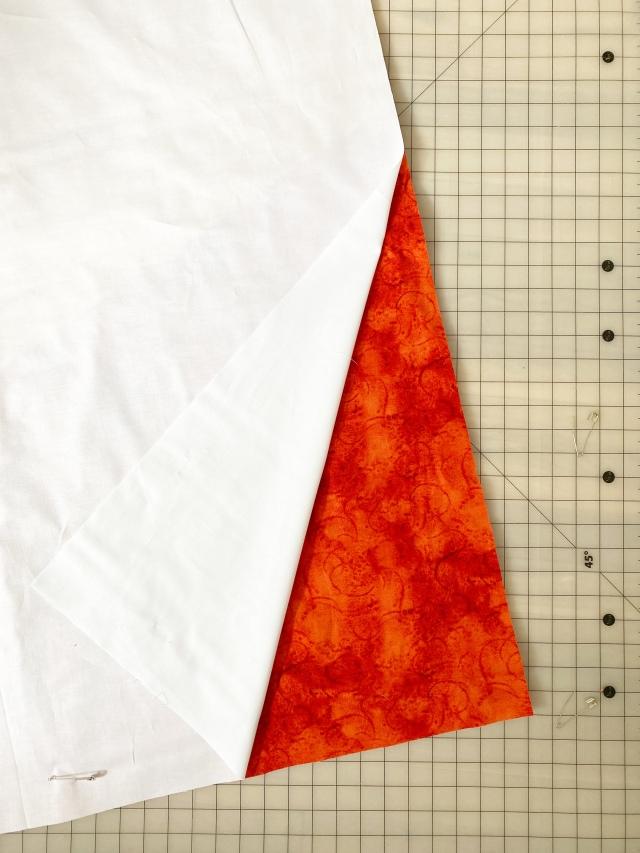 modern quilt: painter's watercolor swirl