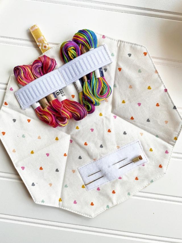 Needle and Thread Case: finish product